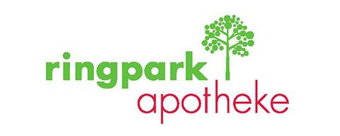 Ringpark Apotheke Logo weiß